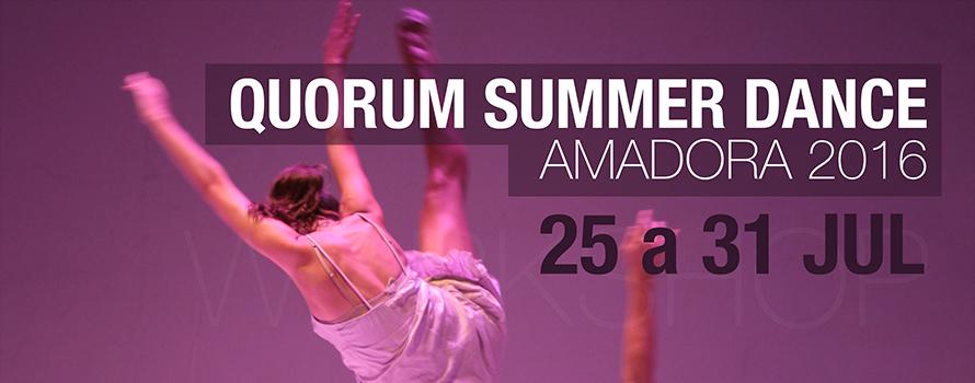Quorum Summer Dance Amadora 2016