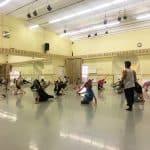 Daniel Cardoso at Vaganova Ballet Academy